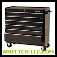 "CABINET 41"" 6 DRAWER BLK