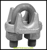 "3/8"" 1000-G WIRE ROPE CLIP FORGED CARB