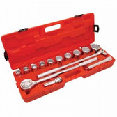 "14 PIECE 3/4"" DRIVE STANDARD MECHANICS TOOL SET"