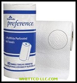 30/CS TOWEL ROLL PRT PREFERENCE WHITE|27385|603-27385|WHITCO Industiral Supplies