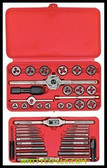 SET TAP&DIE 41PC HEX HANSON|24606|585-24606|WHITCO Industiral Supplies