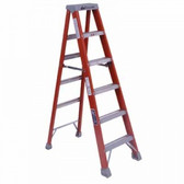 6' FIBERGLASS TWIN STEPLADDER TYPE 1A