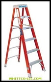 8' BRUTE 375 FIBERGLASSSTEP LADDER|FS1408HD|443-FS1408HD|WHITCO Industiral Supplies