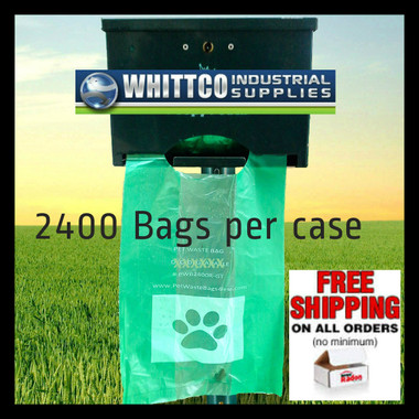 Poopy Pouch doggy poo bag non oem refills) 2400 bags (PWB2400R-GT)