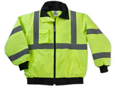 GLoWEAR-8379-CP-Hi-Vis Apparel-24474-CP-Class 3 Econo Bomber Jacket Case Pack