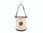 Arsenal-5763-Gear Storage-14463-Canvas Plastic Bottom Bucket - D-rings