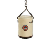 Arsenal-5744T-Gear Storage-14544-Small Plastic Bottom Bucket-Swivel with Top