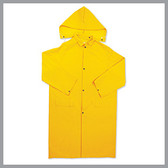 Basic Issue-BI-R030-Rainwear-85156-BI 0.35mm 2 Pc. PVC  Poly Raincoat