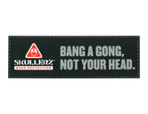 WORK WEAR BUMPER-SK-Skullerz® Bumper Sticker  : 11.5 x 3.75 : Multi-Color