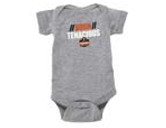 WORK WEAR ONESIE-Onesie  : 6 Month : Grey