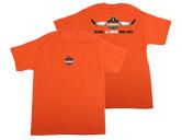WORK WEAR TSHIRT-NB-All Horns No Bull T-Shirt  : SM : Orange
