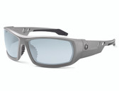 Odin-Safety Glasses : In/Outdoor Lens : Matte Gray 50180