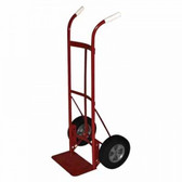 "DUAL HANDLE HANDTRUCK W/10"" ACE-TUFF WHEELS 600#"