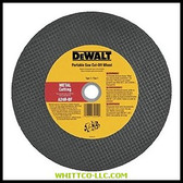 "14""X1/8""X1"" METAL PORTABLE SAW CUT OFF WHEEL