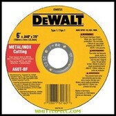 "6""X.040""X7/8"" A60T METALTHIN CUTOFF WHEEL TYPE1