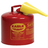 5GAL YELLOW TYPE I SAFETY CAN