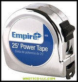 "00626 1""X25' POWER MEASURING TAPE