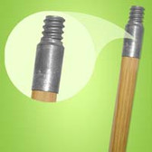 60x1-1/8 METAL THREAD WOOD HAN