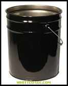 5 GALLON 28X26 STEEL OPEN HEAD PAIL|1252|302-1252|WHITCO Industiral Supplies