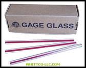 RL 5/8X36 GAUGE GLASS|58X36RL|055-58X36RL|WHITCO Industiral Supplies