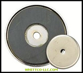 "3-1/4""DIA. SHALLOW POTMAGNET 50-LB PULL