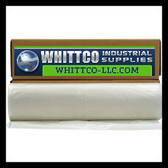 10.0 MIL Plastic Sheeting CLEAR 20X100 1020100C Plastic Sheeting-Vapor Barrier