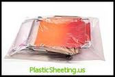 Layflat Poly Bags 2 mil  52X60X002 100/CTN  #672  Item No./SKU