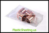 Layflat Poly Bags 3 mil  4X7X003 1000/CTN  #727  Item No./SKU