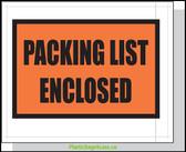 Packing List Envelopes  4.5X5.5 1000/Case Printed  #3860  Item No./SKU