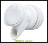 SPIGOT WHITE PLASTIC|24009|385-24009|WHITCO Industiral Supplies