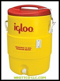10 GAL YELLOW/REDPLASTIC IND|4101|385-4101|WHITCO Industiral Supplies