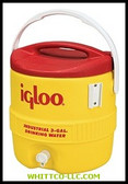 3GAL RED/YELLOW COOLERPLASTIC IND|431|385-431|WHITCO Industiral Supplies