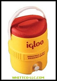 5 GAL YELLOW/RED PLASTICIND. COOLER|451|385-451|WHITCO Industiral Supplies