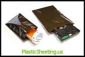 Reclosable Amber Bags 3 Mil ZT Amber 9X12X003 1000/Case  #3880A  Item No./SKU