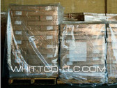 Pallet Top Sheeting  60x60 1.25 mil S-331 Clear 250 Bags per roll
