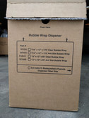"12"" x 175', 3⁄16"" 1012-S Bubble Wrap Roll Dispenser Box"