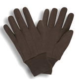 1402RC STANDARD WEIGHT  RAMIE/COTTON  BROWN JERSEY  CLUTE CUT  KNIT WRIST  LADIES Cordova Safety Products