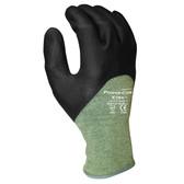 3730XXL POWER-COR XTRA™  13-GAUGE KEVLAR®/STEEL  BLACK 3/4 FOAM NITRILE  ANSI CUT LEVEL 4 Cordova Safety Products
