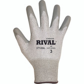 3712GM RIVAL™ LIGHT GRAY 13-GAUGE HPPE SHELL  GRAY POLYURETHANE PALM COATING Cordova Safety Products