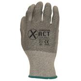 3733XS X-ACT™ 18-GAUGE  HPPE/STEEL  GRAY POLYURETHANE PALM COATING  ANSI CUT LEVEL 2 Cordova Safety Products