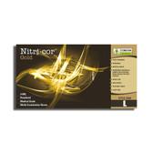 4080XL NITRI- COR GOLD™ NITRILE  EXAM GRADE  POWDERED  TEXTURED  4-MIL Cordova Safety Products