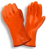 5700G HI-VIS ORANGE  SINGLE DIPPED  FOAM INSULATED PVC  SMOOTH FINISH  12-INCH Cordova Safety Products