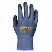 AG581XXL TOWA® ACTIVGRIP™ ADVANCE 13-GAUGE  GRAY NYLON SHELL  BLACK MICROFINISH® NITRILE PALM COATING Cordova Safety Products