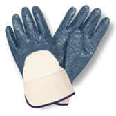 6850R-10 STANDARD DIPPED NITRILE  ROUGH PALM COATED  JERSEY LINED  SAFETY CUFF Cordova Safety Products