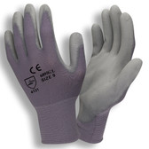 6895CGXS STANDARD  13-GAUGE  GRAY NYLON SHELL  GRAY POLYURETHANE PALM COATING Cordova Safety Products