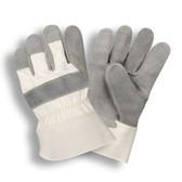 1030L SIDE SPLIT LEATHER  WHITE CANVAS BACK  RUBBERIZED SAFETY CUFF  KEVLAR® SEWN Cordova Safety Products