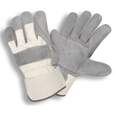 1051S SIDE SPLIT  DOUBLE PALM  WHITE CANVAS BACK  RUBBERIZED SAFETY CUFF  KEVLAR® SEWN  Cordova Safety Products
