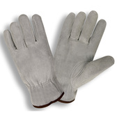 7800S SELECT SPLIT LEATHER DRIVER  UNLINED  SHIRRED ELASTIC BACK  KEYSTONE THUMB  GRAY Cordova Safety Products