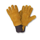 FB400L FREEZEBEATER® PREMIUM RUSSET SIDE SPLIT COWHIDE LEATHER PALM  DOUBLE PALM & REINFORCED CROTCH  C150 THINSULATE® LINED  HEAVY NYLON KNIT WRIST Cordova Safety Products