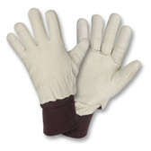 FB550XL FREEZEBEATER® PREMIUM TAN GRAIN PIGSKIN LEATHER PALM  7 MM FOAM SOCK LINED  HEAVY NYLON KNIT WRIST Cordova Safety Products